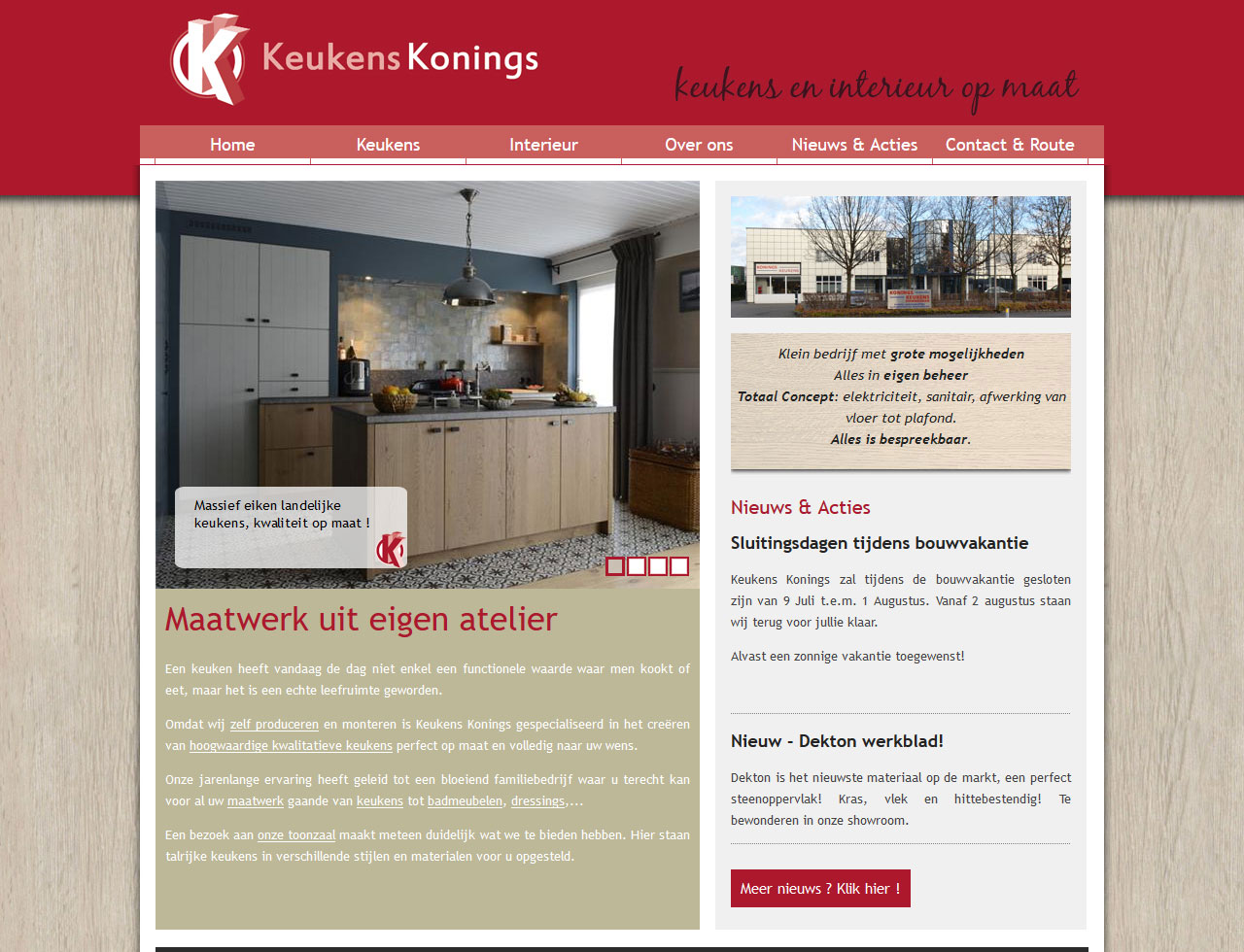 Keukens Essen Belgie : Keukens konings koen michielsen webdesign essen